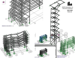 2006 Multistory Steel Structure analysis in Risa-3D